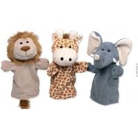 """Marionetas de mão """"Animais selvagens"""""""