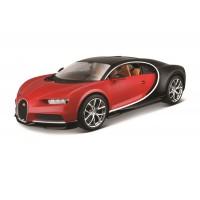 Bugatti Chiron escala 1:18 Plus - Vermelho