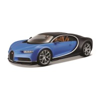 Bugatti Chiron escala 1:18 Plus - Azul
