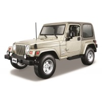 Jeep Wrangler Sahara escala 1:18