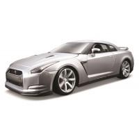 Nissan GT-R (2009) escala 1:18 - Silver