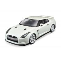 Nissan GT-R (2009) escala 1:18 - Pearl White