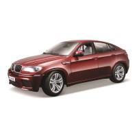 BMW X6 M escala 1:18 - Vermelho