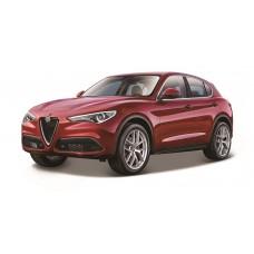 Alfa Romeo Stelvio 1:24 - Vermelho