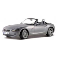 BMW Z4 escala 1:24 - Cinza Metalizado