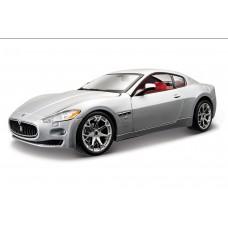 Maserati GranTurismo escala 1:24 - Silver