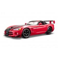 Dodge Viper SRT 10 ACR escala 1:24 - Vermelho