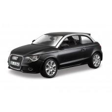 Audi A1 escala 1:24 - Preto