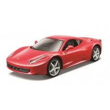 Ferrari 458 Italia 1:24 - Vermelho