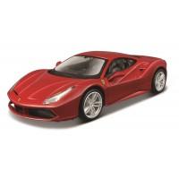 Ferrari 488 GTB 1:24 - Vermelho