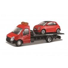 Carro Pronto Socorro c/ Fiat 500 (2007) 1:43