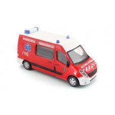 Ambulância Bombeiros Renault Master 2010 escala 1:50