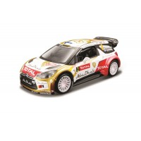 2013 Citroen DS3 WRC (2) MIkko Hirvonen escala 1:32 Rally