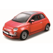 Fiat 500 1:32 Street Fire - Vermelho