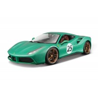 "Ferrari 70th Anniversary 488 GTB ""The Green Jewel"" 1:18 Edição Limitada"