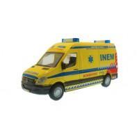 Ambulância Bombeiros - INEM Mercedes-Benz Sprinter escala 1:50
