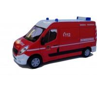 Forças de Emergência - 2010 Renault Master Bombeiros escala 1:50