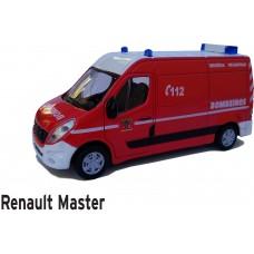 Miniatura ambulância Bombeiros Portugueses