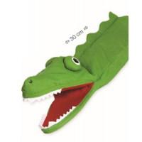 """Marioneta de mão """"crocodilo"""""""