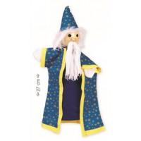 """Marioneta de mão """"mago"""""""