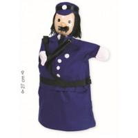 """Marioneta de mão """"policia"""""""