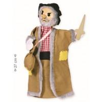 """Marioneta de mão """"ladrão"""""""