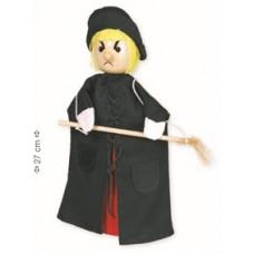 """Marioneta de mão """"bruxa"""""""