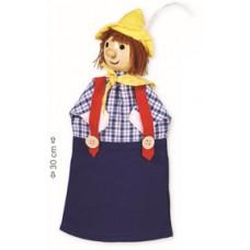"""Marioneta de mão """"seppi"""""""