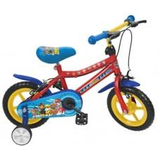 Bicicleta Paw Patrol 12'' - menino