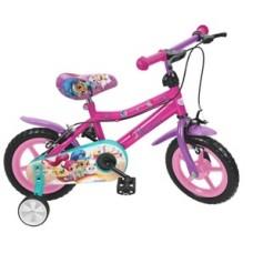 Bicicleta Shimmer and Shine 12'' - menina