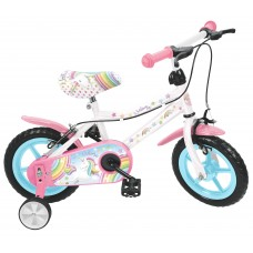 Bicicleta Unicórnio 12'' - menina