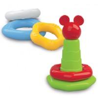 Aneis empilháveis Baby Mickey