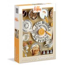 Puzzle 500 breakfast