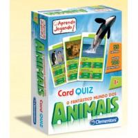 Jogo de cartas quiz o mundo dos animais