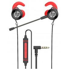 Auriculares HP GAMING vermelho