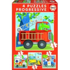 Puzzle progressivo Patrulha Resgate