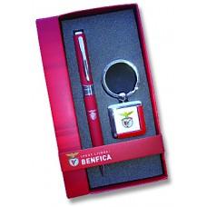 Conjunto porta-chaves + esferográfica SLB
