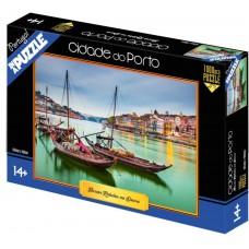 """Puzzle """"Barcos rabelos no Douro"""""""